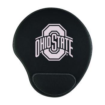 Ohio State University -Padded Velour Mouse Pad-Black