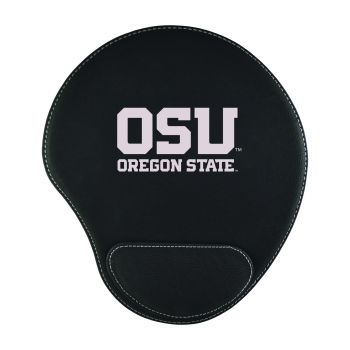 Oregon State University-Padded Velour Mouse Pad-Black