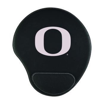 University Of Oregon -Padded Velour Mouse Pad-Black