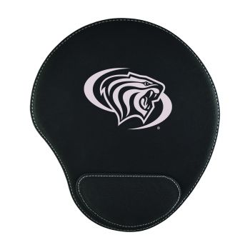 University of The Pacific -Padded Velour Mouse Pad-Black