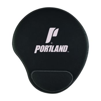 The University of Portland-Padded Velour Mouse Pad-Black
