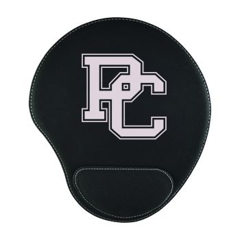 Presbyterian College-Padded Velour Mouse Pad-Black