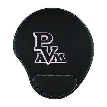 Prairie View A&M University-Padded Velour Mouse Pad-Black