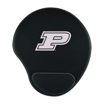 Purdue University-Padded Velour Mouse Pad-Black