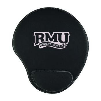 Robert Morris University -Padded Velour Mouse Pad-Black