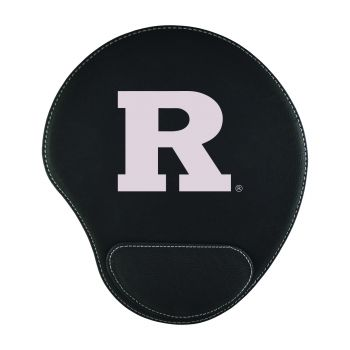 Rutgers University-Padded Velour Mouse Pad-Black