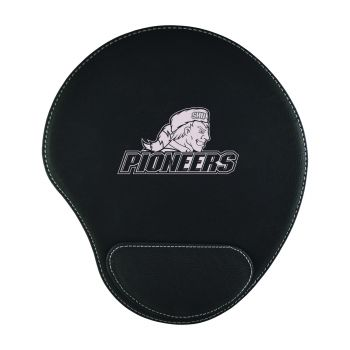 Sacred Heart University-Padded Velour Mouse Pad-Black