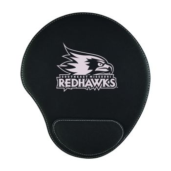 Southeast Missouri State University-Padded Velour Mouse Pad-Black