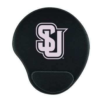 Seattle University-Padded Velour Mouse Pad-Black