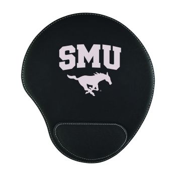 Southern Methodist University-Padded Velour Mouse Pad-Black