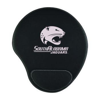 University of South Alabama-Padded Velour Mouse Pad-Black
