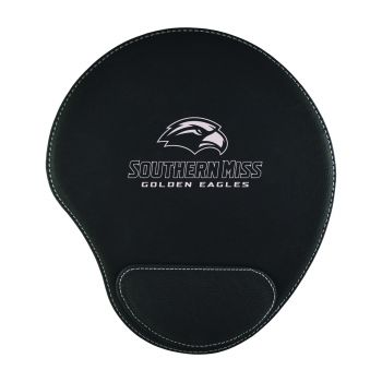 University of Southern Mississippi-Padded Velour Mouse Pad-Black