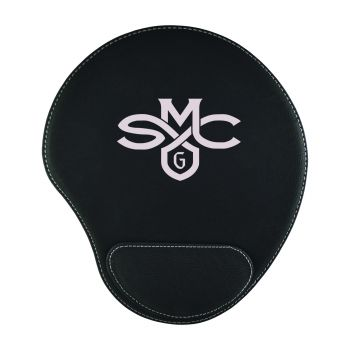 Saint Mary's College of California-Padded Velour Mouse Pad-Black