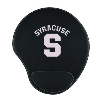 Syracuse University-Padded Velour Mouse Pad-Black