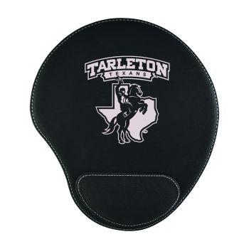 Tarleton State University-Padded Velour Mouse Pad-Black