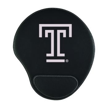 Temple University-Padded Velour Mouse Pad-Black