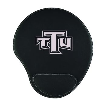 Tennessee Technological University-Padded Velour Mouse Pad-Black