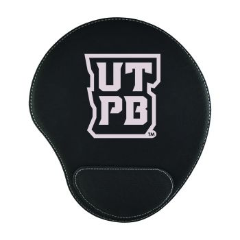 The University of Texas at The Permian Basin-Padded Velour Mouse Pad-Black