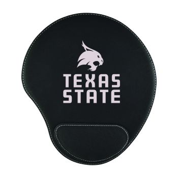 Texas State University-Padded Velour Mouse Pad-Black