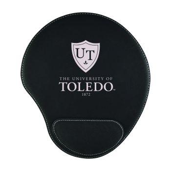 University of Toledo-Padded Velour Mouse Pad-Black