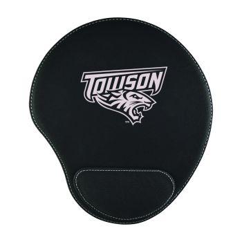 Towson University-Padded Velour Mouse Pad-Black