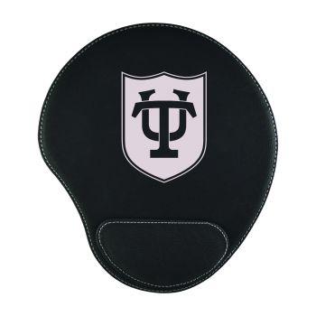 Tulane University-Padded Velour Mouse Pad-Black