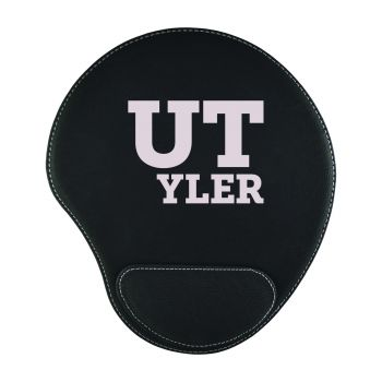 University of Texas at Tyler-Padded Velour Mouse Pad-Black