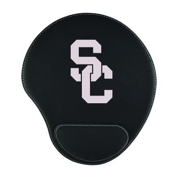 University of Southern California-Padded Velour Mouse Pad-Black
