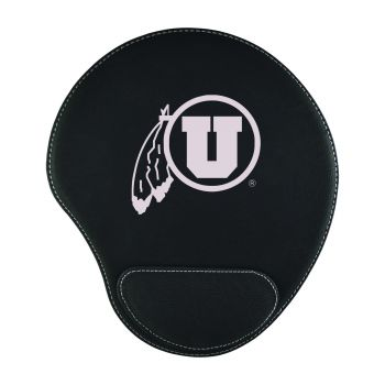 University of Utah-Padded Velour Mouse Pad-Black