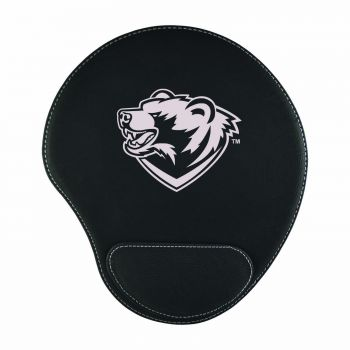 Washington University in St. Louis-Padded Velour Mouse Pad-Black