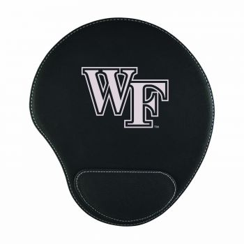Wake Forest University-Padded Velour Mouse Pad-Black