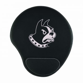 Wofford College-Padded Velour Mouse Pad-Black