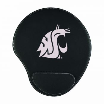 Washington State University-Padded Velour Mouse Pad-Black