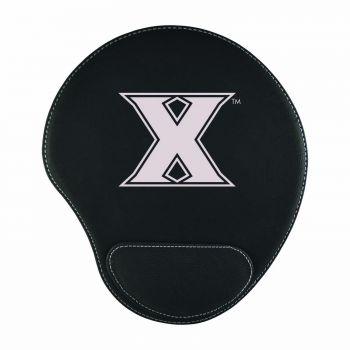 Xavier University-Padded Velour Mouse Pad-Black