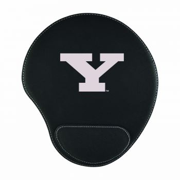 Youngstown State University-Padded Velour Mouse Pad-Black