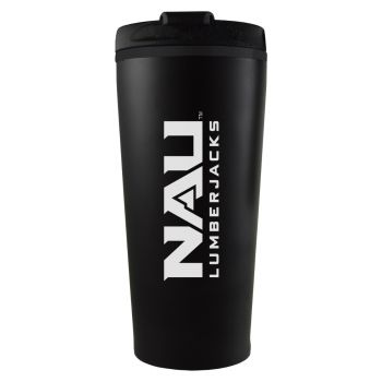 Northern Arizona University -16 oz. Travel Mug Tumbler-Black