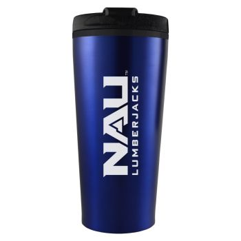 Northern Arizona University -16 oz. Travel Mug Tumbler-Blue
