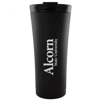 Alcorn State University-18 oz. Tapered TumblerBlack