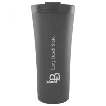 Long Beach State University-18 oz. Tapered TumblerBlack