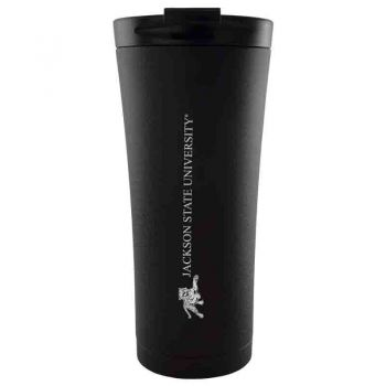 Jacksonville State University-18 oz. Tapered TumblerBlack