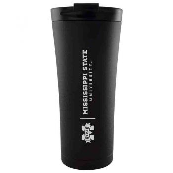 Mississippi State University -18 oz. Tapered TumblerBlack