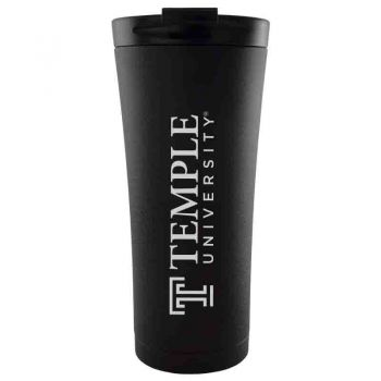 Temple University-18 oz. Tapered TumblerBlack