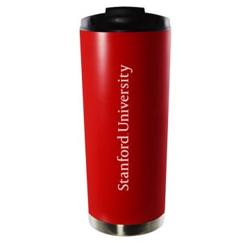 Stanford University-16oz. Stainless Steel Vacuum Insulated Travel Mug Tumbler-Red