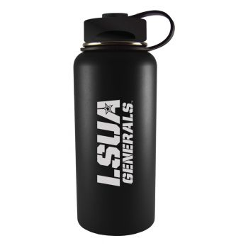 Louisiana State University of Alexandria-32 oz. Travel Tumbler-Black