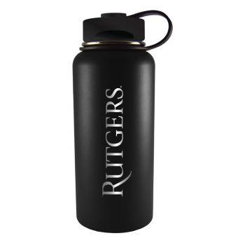 Rutgers University -32 oz. Travel Tumbler-Black