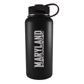 University of Maryland-32 oz. Travel Tumbler-Black
