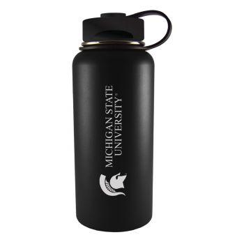 Michigan State University-32 oz. Travel Tumbler-Black