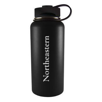 Northeastern University -32 oz. Travel Tumbler-Black