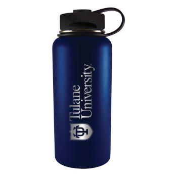 Tulane University -32 oz. Travel Tumbler-Blue
