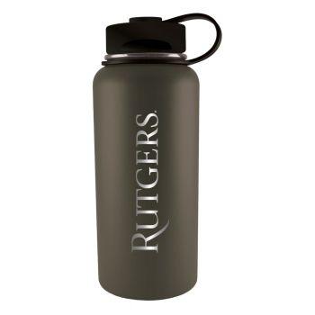 Rutgers University -32 oz. Travel Tumbler-Gun Metal